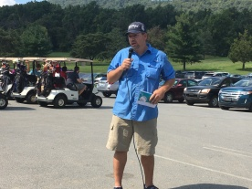 Jesse welcomes golfers
